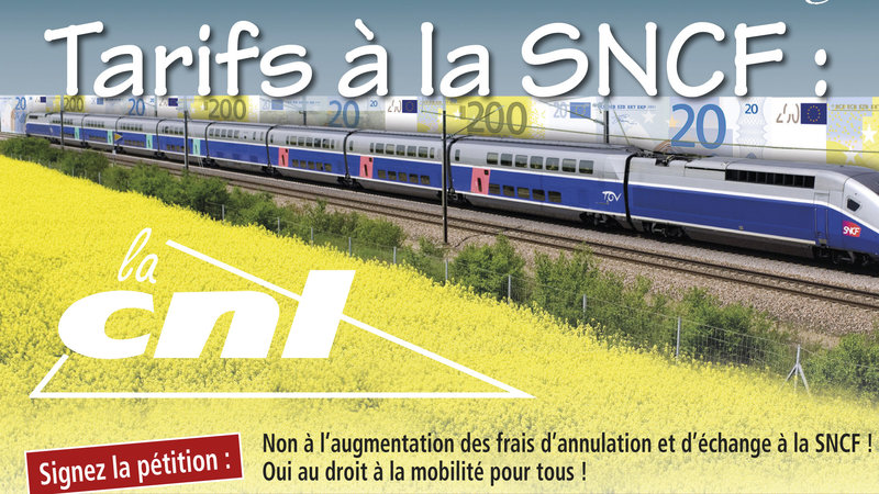 Pétition SNCF