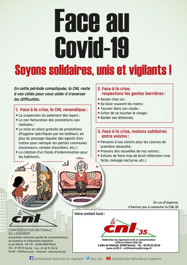 Covid-19 : Logement social et l'Etat